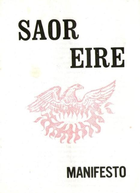 Saor Eire Manifesto May 1971